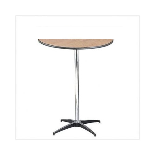 30 Half Round Wood Table 42 Tall, Tall Round Table